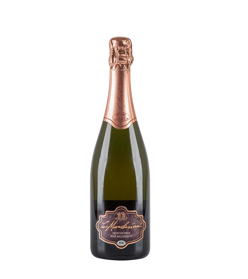Marchesine, Franciacorta Brut Rosé Millesimato '10 Fl 75
