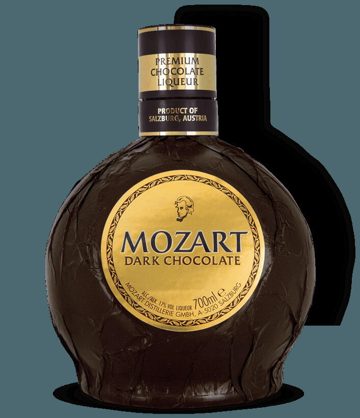 Image of   Mozart Dark Chocolate Cream Liqueur Fl 50