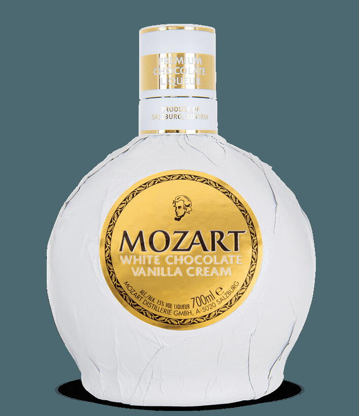 Mozart White Chocolate Cream Liqueur Fl 50