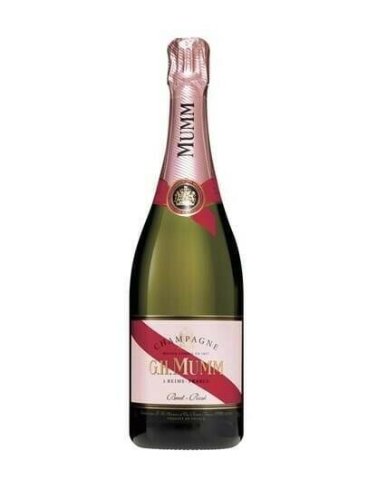 Image of   Mumm Champagne Brut Rosé Fl 75