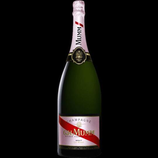 Image of   Mumm Champagne Brut Rosé (Mg) Fl 150