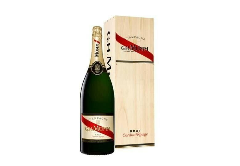 Image of   Mumm Champagne Cordon Rouge Brut (Db Mg) Fl 300