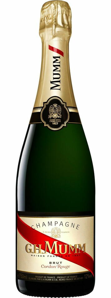 Mumm Champagne Cordon Rouge Brut Fl 75