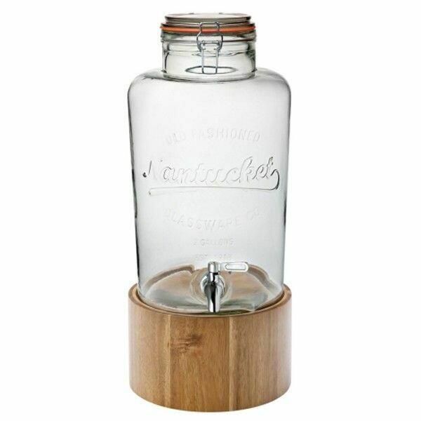 Billede af Nantucket Drinks Dispenser Med Træfod - 8.5ltr
