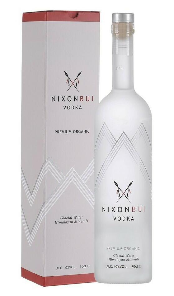 Nixonbui Premium Organic Vodka + 1 t Shirt Nixonbui