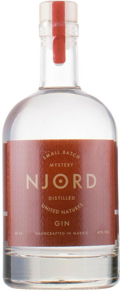 "Njord ""United Natures"" Gin Fl 50"