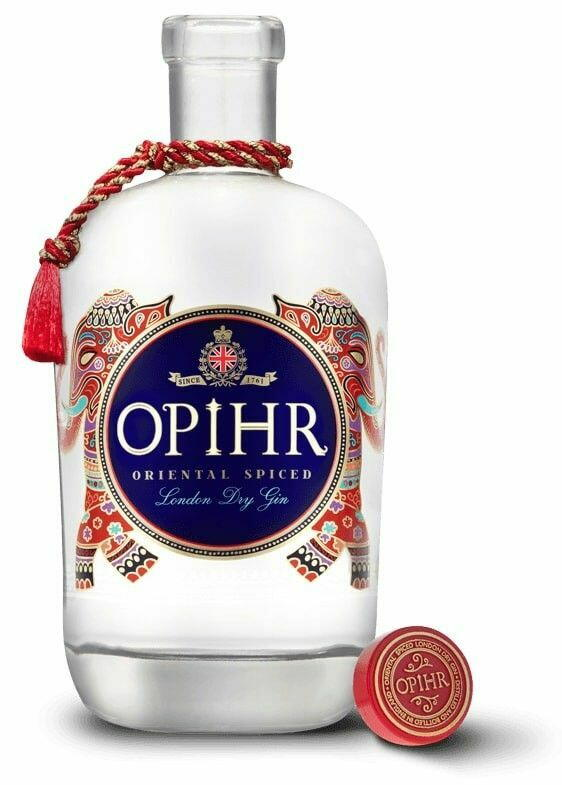 Opihr Spiced London Dry Gin Fl 70 Drikkevarer
