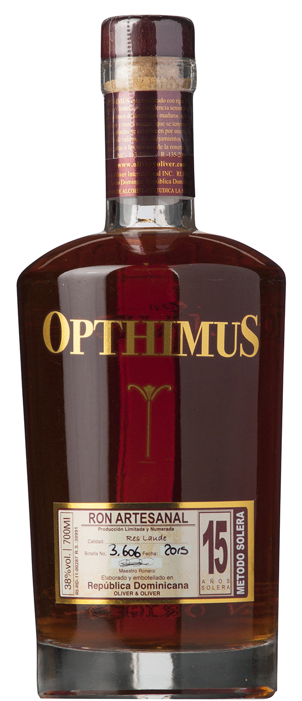 Image of   Opthimus Solera 25 Ron Dominicano Fl 70cl