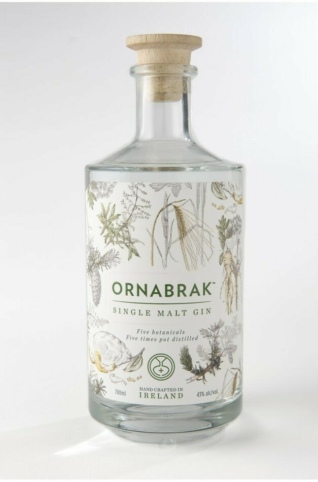 Image of   Ornabrak Irish Single Malt Gin