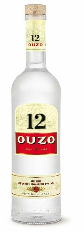 Image of   Ouzo 12 Fl 70