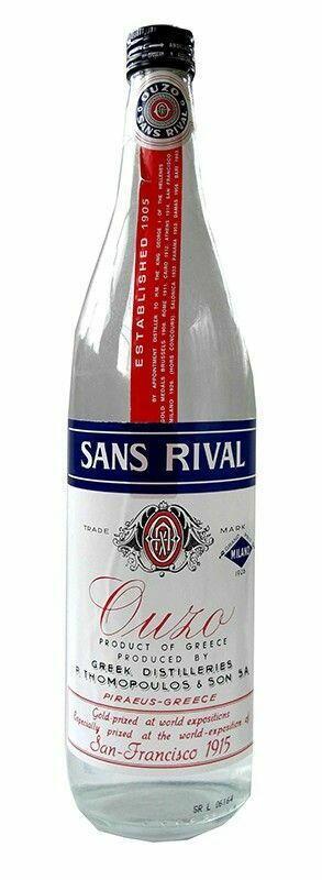 """Ouzo """"Sans Rival"""" Fl 70"""