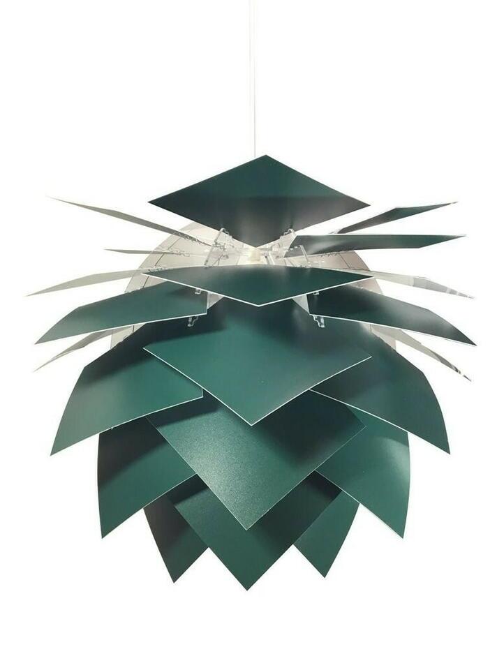 Image of   Pineapple Medium Pendel Dia 45 Cm - Mørk Grøn