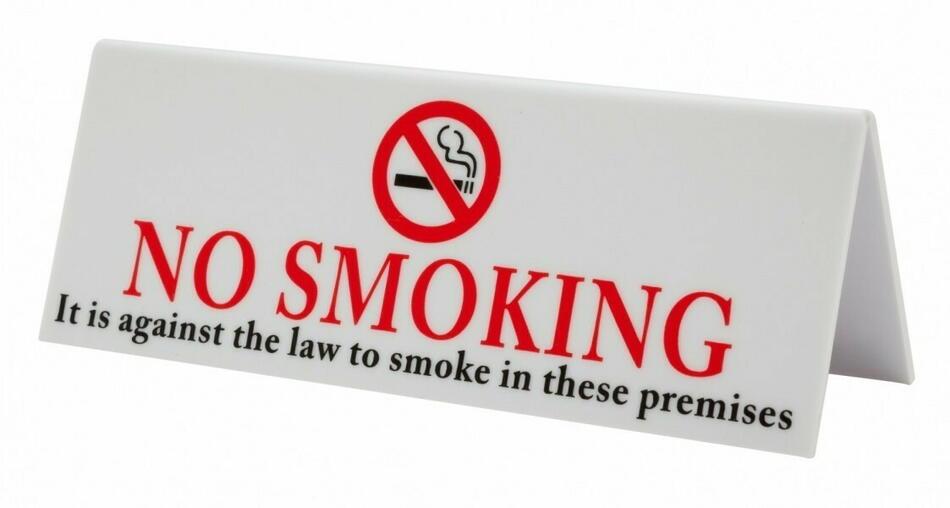 Image of   Plast No Smoking