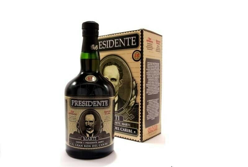 Presidente E El Gran Ron Del Caribe 15 Yo Fl 70