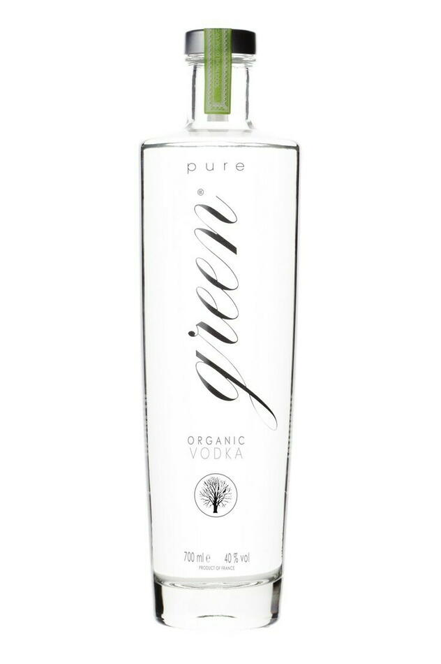 Pure Green Organic Vodka Fl 70