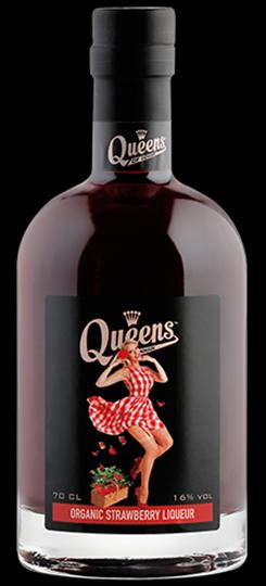 Queens Of Denmark Jordbærlikør, Økologisk Fl 70