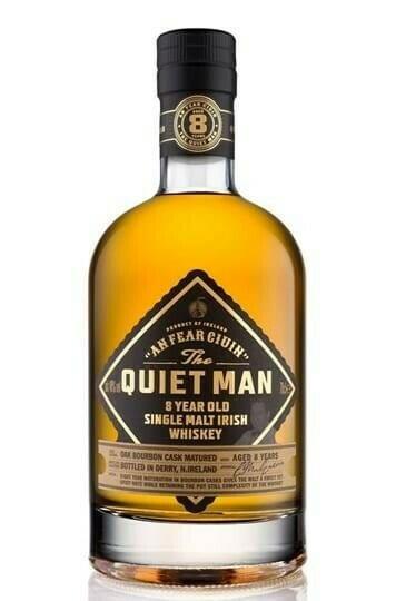 Image of   Quiet Man 8 Yo Irish Whiskey Fl 70