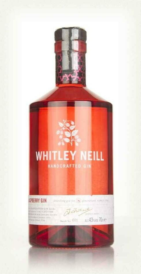 Whitley Neill Raspberry Gin Fl 70