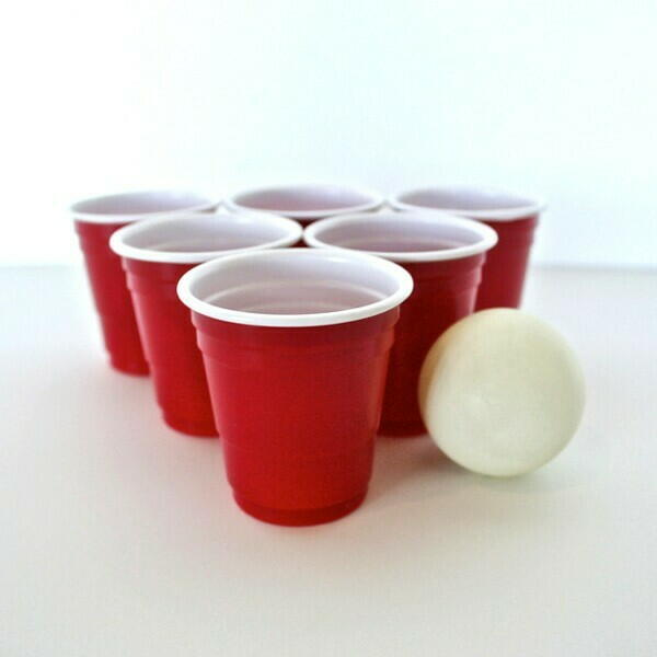 Image of   Red Cups Shotglas