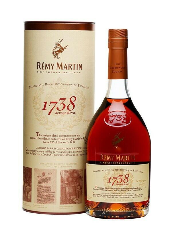 Image of   Remy Martin 1738 Accord Cognac Fl 70