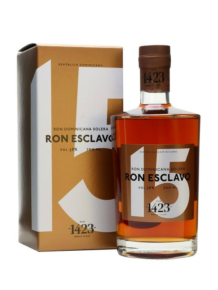 Image of   Ron Esclavo Dominicana 15 Yo 70 cl