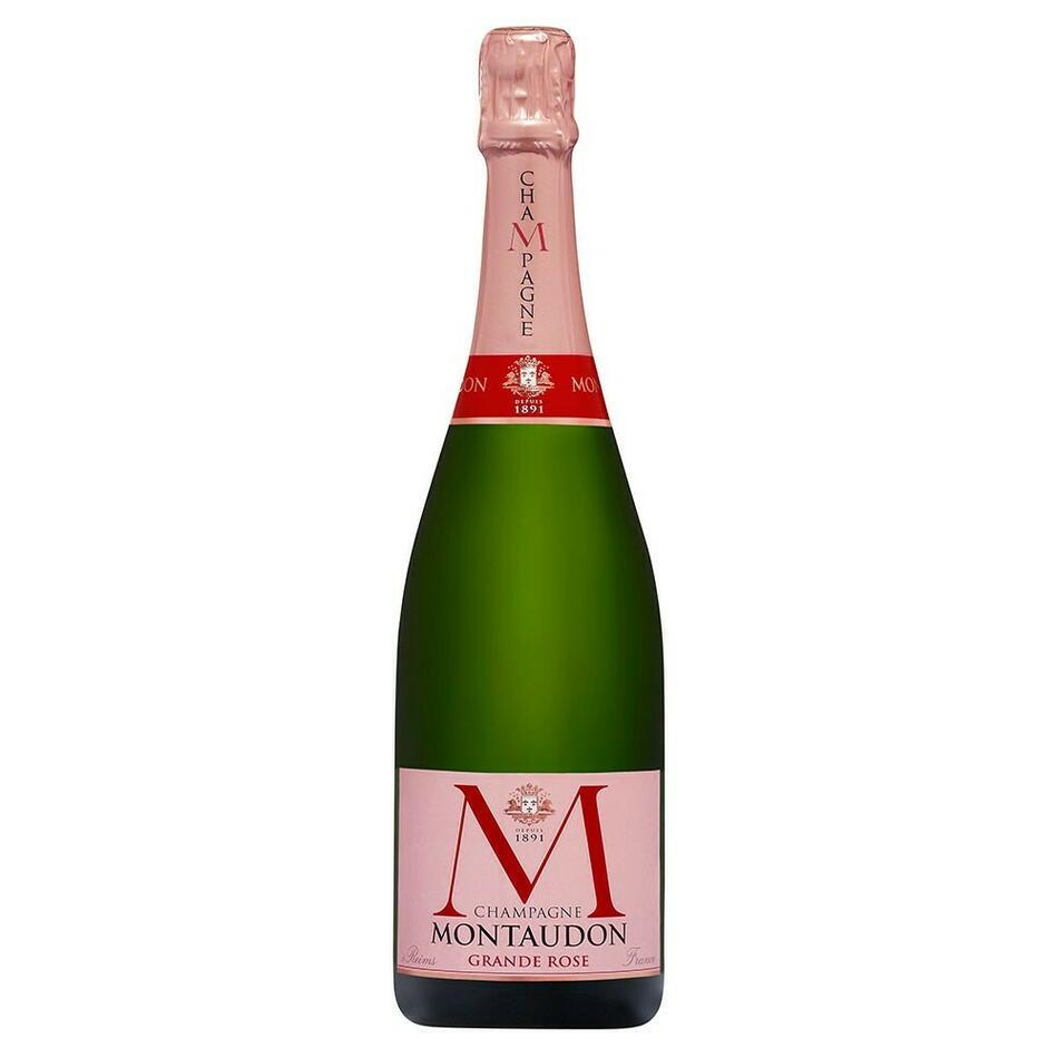 Montaudon Champagne Grande Rosé 75 cl