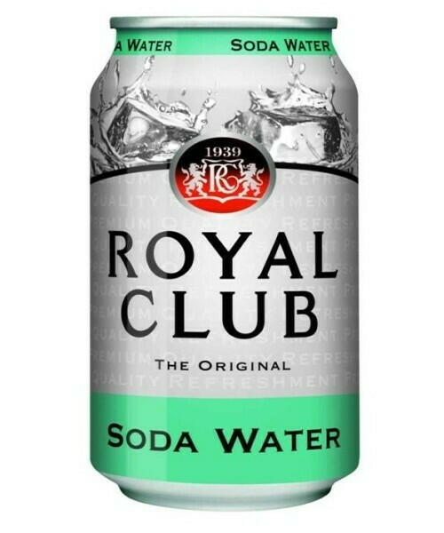 Image of   Royal Club Soda Water 33cl Kasse