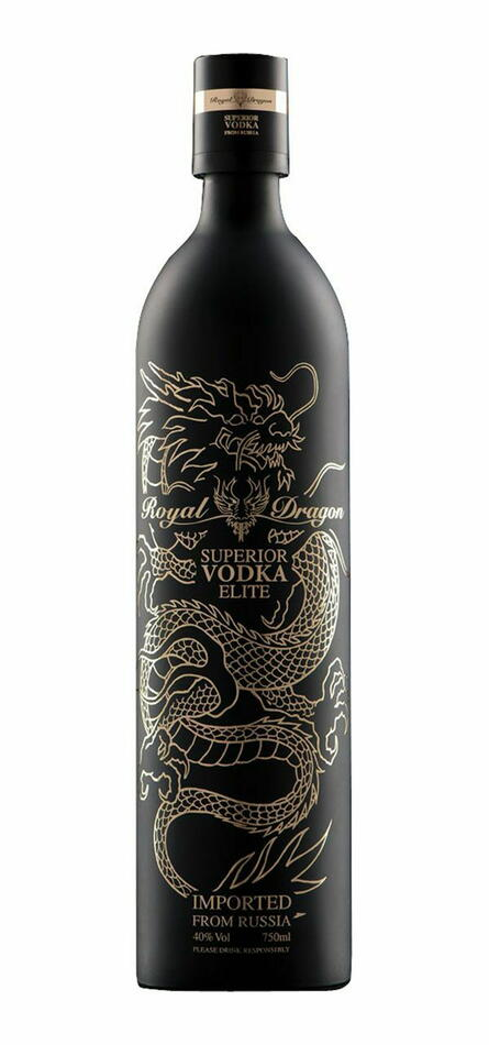Royal Dragon Superior Vodka - Elite Fl 70