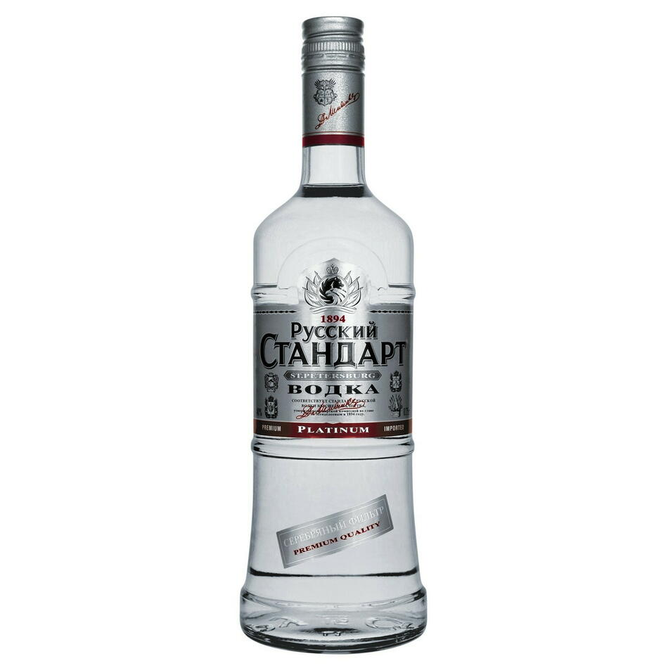 Russian Standard Vodka Original Fl 70