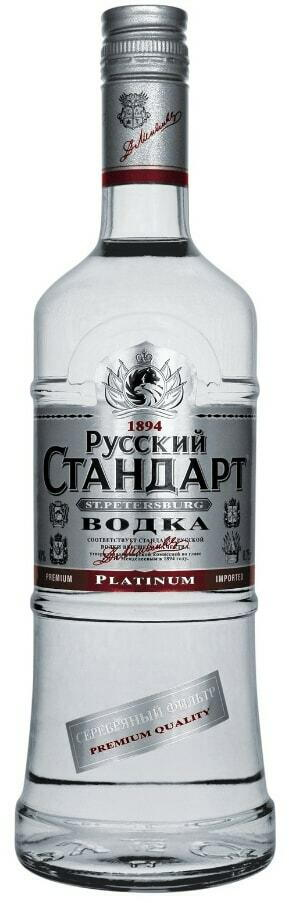 Image of   Russian Standard Vodka Platinum Fl 70