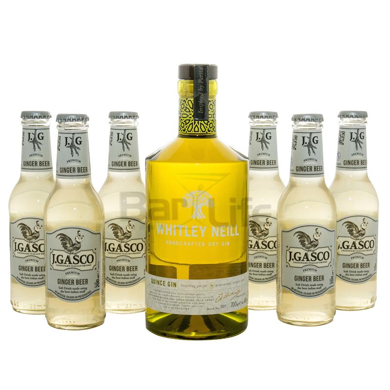 Image of   Gin Og Ginger: Whitley - Pakke