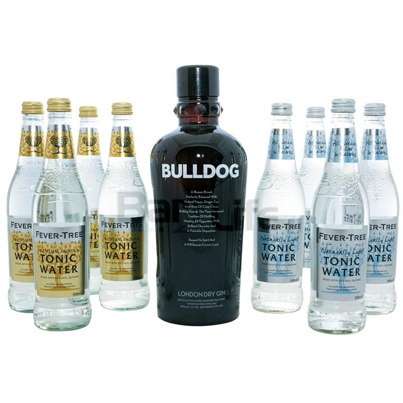 Image of   Gin Og Tonic: Bulldog - Pakke