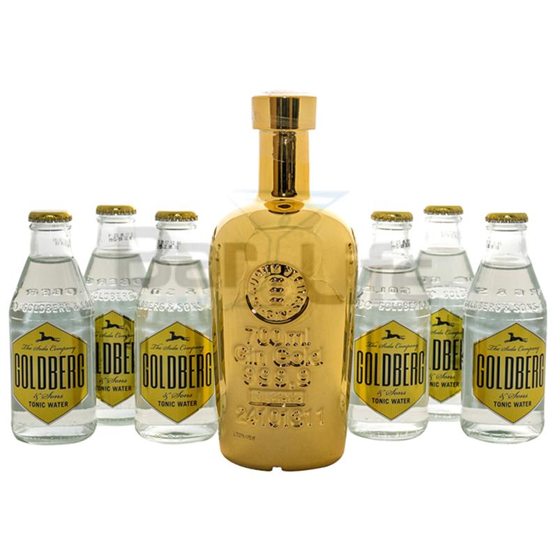 Image of   Gin Og Tonic: Gin Gold - Pakke