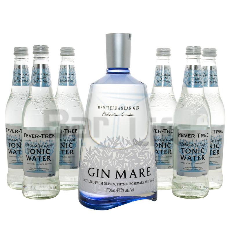 Billede af Gin Og Tonic: Gin Mare - Pakke