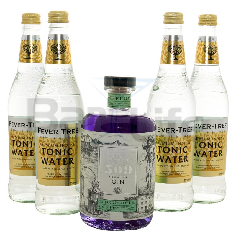 Image of   Gin Og Tonic: Buss No 509 - Pakke