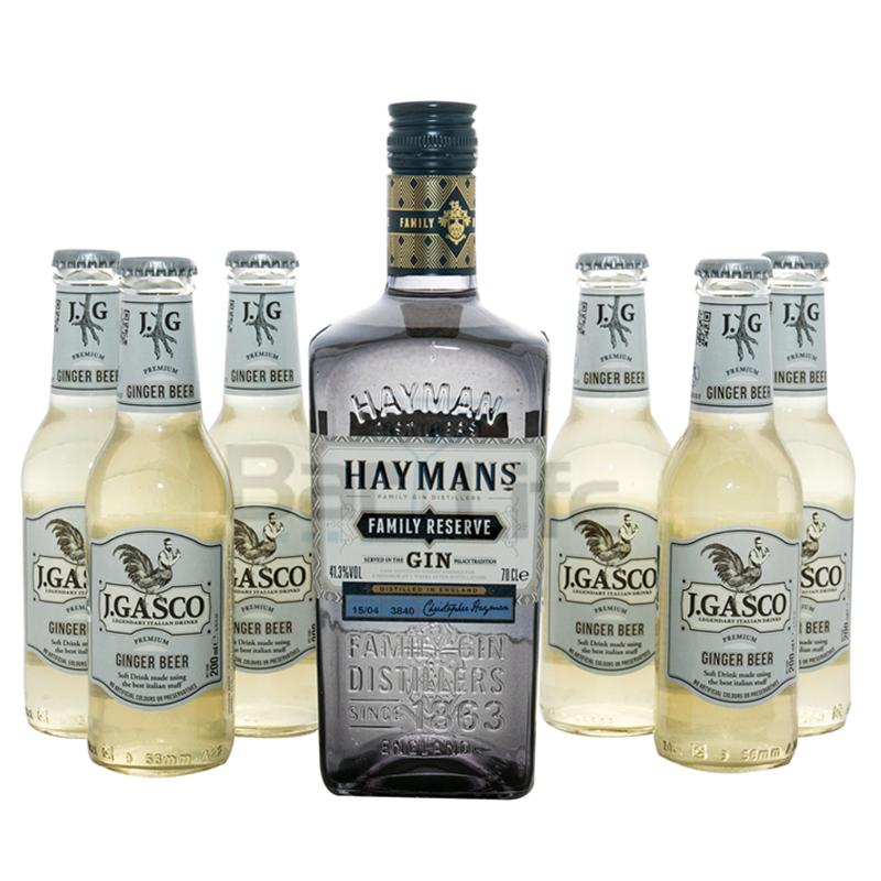 Image of   Gin Og Ginger Beer: Hayman's - Pakke