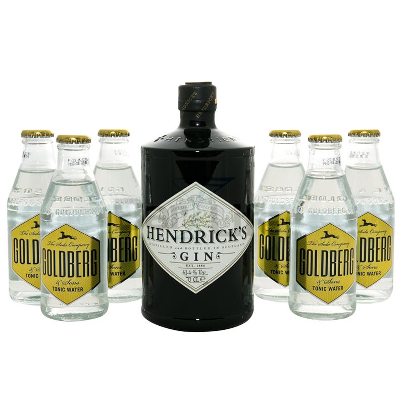Image of   Gin Og Tonic: Hendricks - Pakke