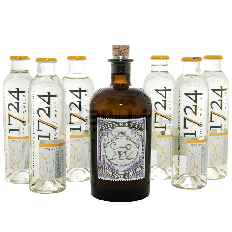 Image of   Gin Og Tonic: Monkey 47 - Pakke