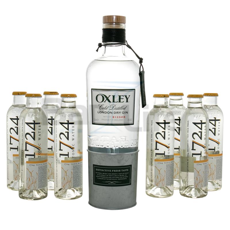 Image of   Gin Og Tonic: Oxley - Pakke