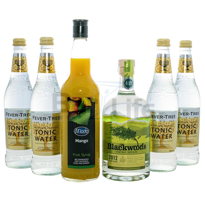 Image of   Gin Hass Og Tonic - Pakke