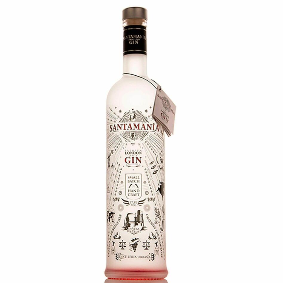 Santamania Small Batch Gin Fl 70