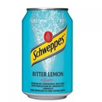 Image of   Schweppes Bitter Lemon, Dåse 33cl