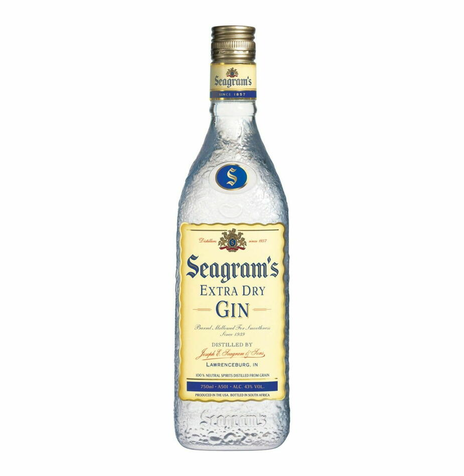 Seagrams Extra Dry Gin Fl 70