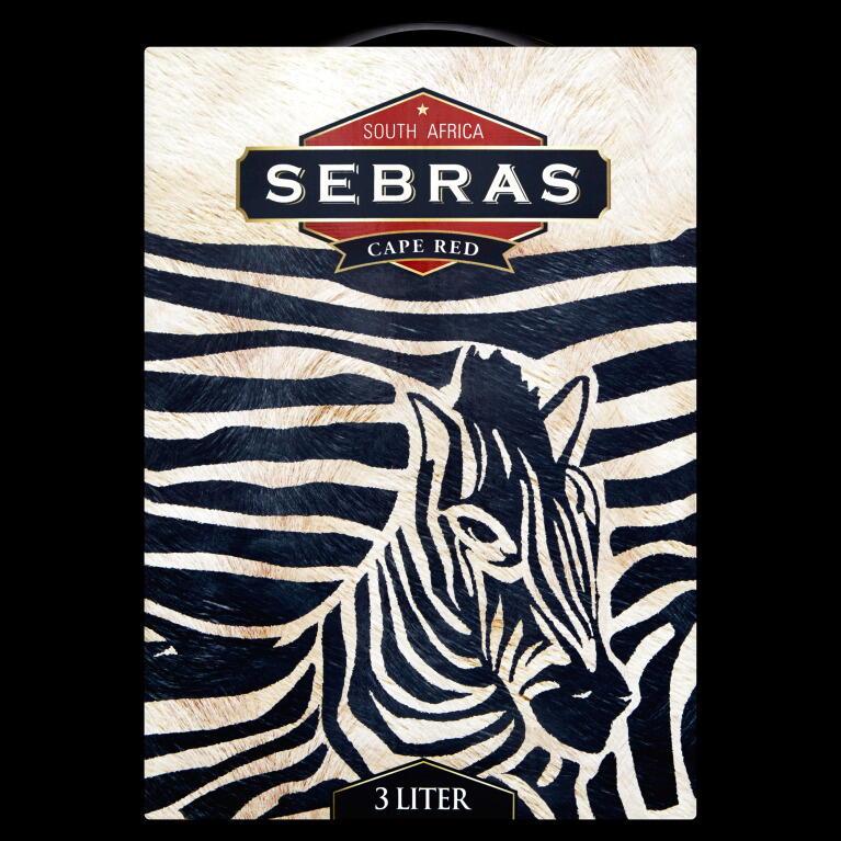Image of   Sebras Cape Red (Bib) Krt 300