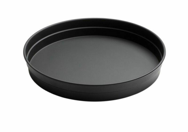 Image of   Serveringsbakke - Rund Sort