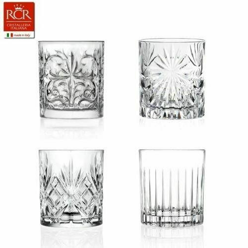 Image of   Rcr Mixology Krystal Glas - 4 Tumblers