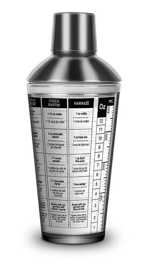 Shaker Glas Med Opskrift Final Touch