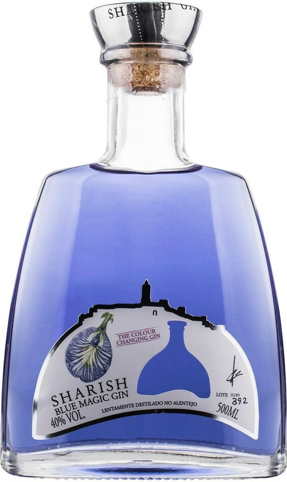Sharish Blue Magic Gin Fl 50