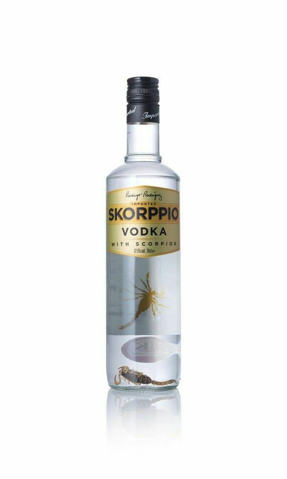Image of   Skorppio Vodka M/skorpion 70 cl