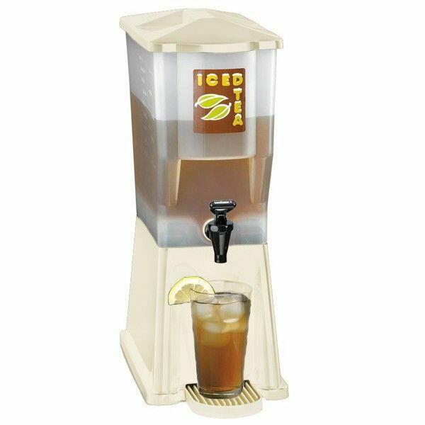 Image of   Slimline drinkdispenser råhvid 11.4 L.